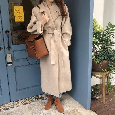 Women Winter Long Overcoat Outwear Coat Loose Plus Size Cardigans