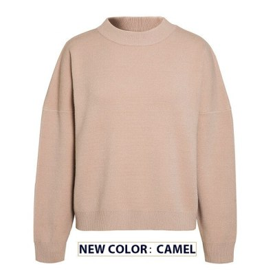 Women Knitted Sweater Autumn Winter Female Casual Retro Jumper