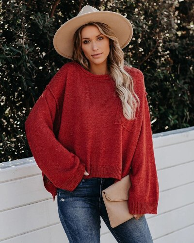 Autumn Winter Sweater Knitwear Holiday Woman Sweaters Pullovers