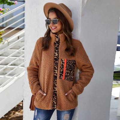 Autumn Winter Teddy Coats Ladies Warm Faux Fur
