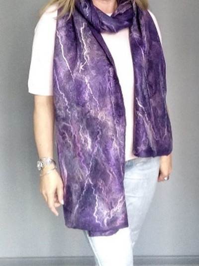 Color bar winter ladies all-match shawl scarf