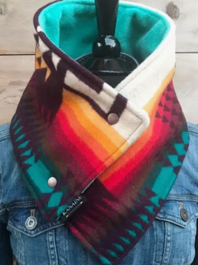 knitted spring winter women scarf plaid warm cashmere scarves