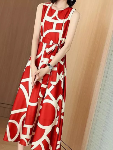 Women Print Long Dress Bohemian Sundress Vestidos