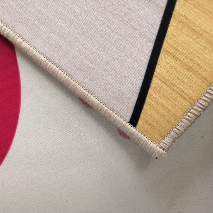 Sun God Totem Black Floor Corridor Area Rugs Living Room Carpet