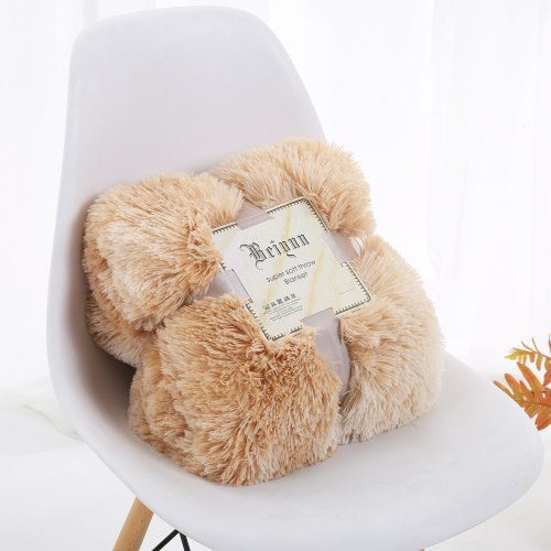 Tie Dye Blankets Bedding Winter Fur Throw Blanket Sleep Thick Blankets