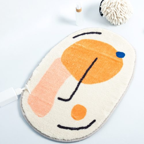 Funny Bathroom Rug Interesting Kitchen Carpet Function Blanket Floor Mat Rugs