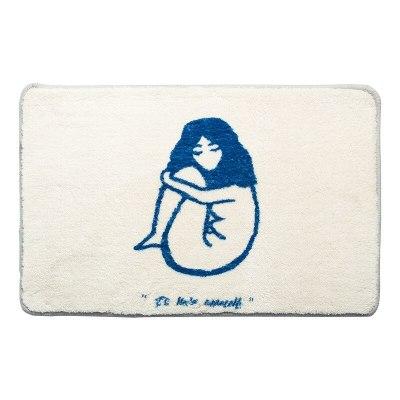 Funny Bathroom Rug Interesting Kitchen Carpet Function Blanket Floor Mat Rugs