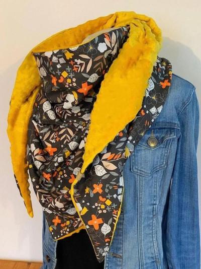 Fashion all-match casual thickening warm shawl scarf
