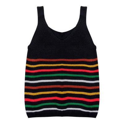 Ladies Daily Knitted Vest V-neck Sleeveless T-Shirt