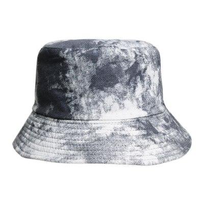 Fashion Fisherman Hat Tie Dye Bucket Hats Bucket Cap Vintage Printed Fishing Hat