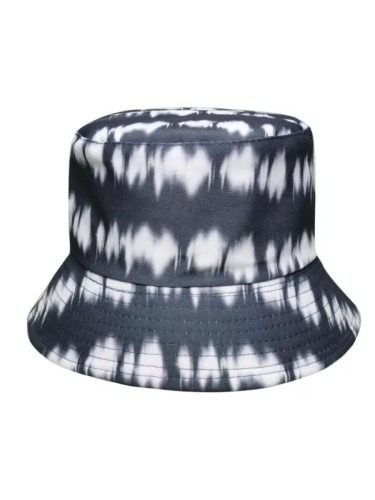 Double-sided Bucket Hat Cotton Flat Sun Hat Tie Dye Fisherman Hat