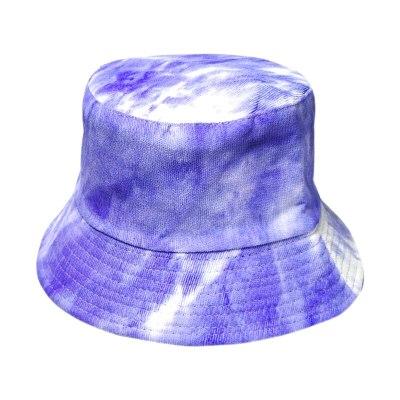 Corduroy Winter Bucket Hat Tie Dye Soft Warm Fishing Cap