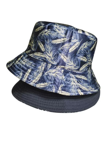 Feather Print Fisherman Bucket Hat Summer Outdoor Leisure Travel Sun Hat