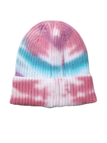 Fashion Tie-dye Winter Knitted Beanie Hat
