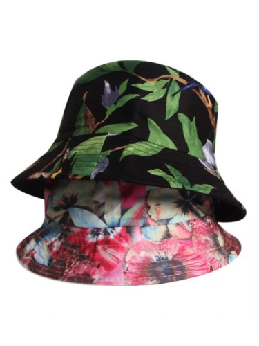 Summer Fisherman Hat Casual Floral Print Bucket Hats