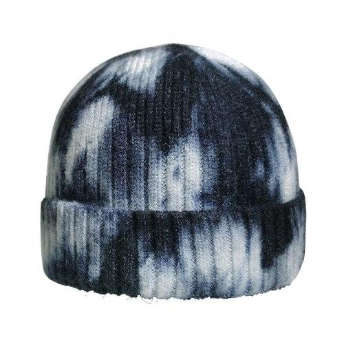 Tie-dye Knit Hat Men Women Winter Hats