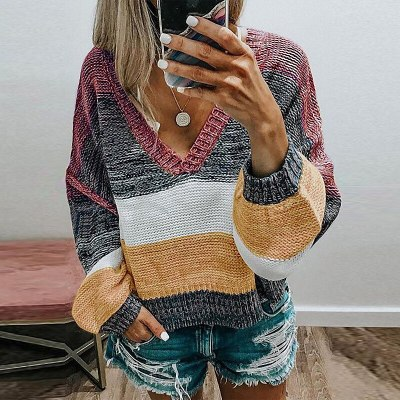 Winter Sweater Women Knitted Tops Casual Long Sleeve