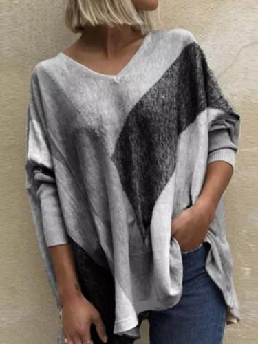 T-shirt Ladies Elegant Casual Tops Pullovers