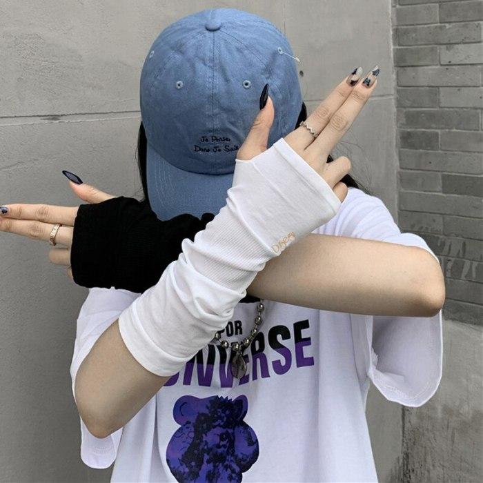 Women Sport Outdoor Elbow Length Sleeve Cool  Arm Warmer Long Glove
