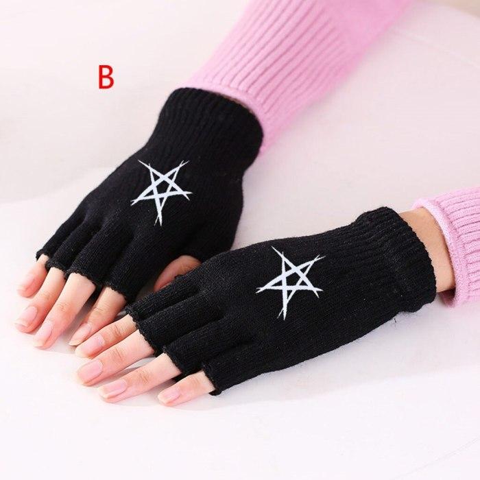 Women Knitted Fingerless Warm Winter Gloves Soft Comfortable gloves