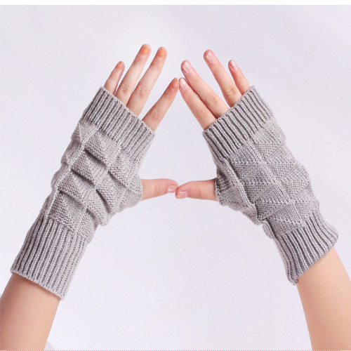 Warm long gloves leak finger short gloves half finger gloves