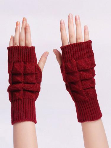 Warm long gloves leak finger short gloves half finger gloves