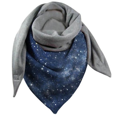 Sky Print Scarf Women Winter Warm Neck Wrap Shawl Scarves