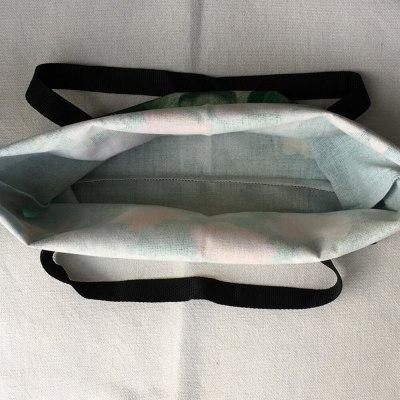 Cute Cup Cat Print Reusable Shopping Bag