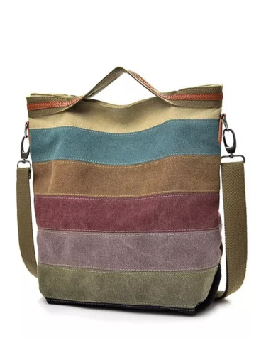 Handbag Patchwork Casual Women Shoulder Bags Female Messenger Bag
