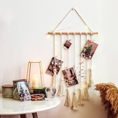 Photos Show Tassel Tapestry Wall Bohemian Home Decoration