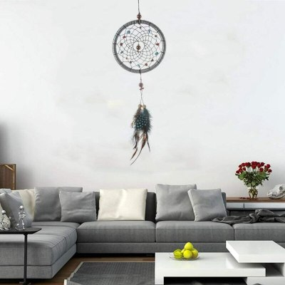 Handmade Dream Catcher Feathers Wall Hanging Decoration