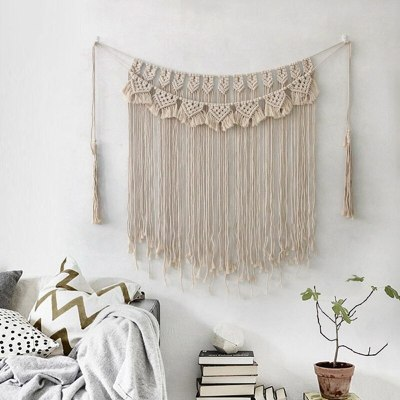 Macrame Wall Hanging Tapestry Woven Bohemian Wall Decor Home Decoration