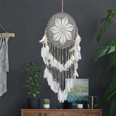 40cm Dream Catchers Handmade Traditional Original Circular Net Feathers Wall Hanging Decoration