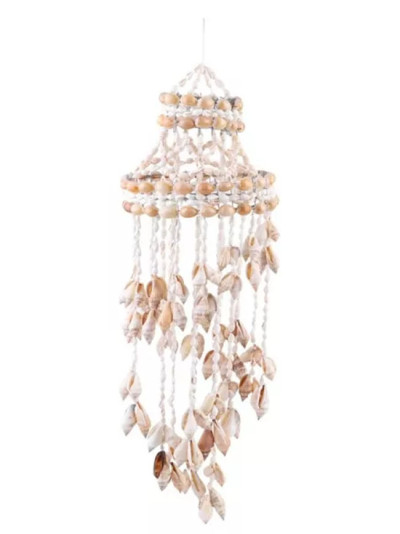 Conch Sea Shell Wind Chime Hanging Ornament Wall Decoration Creative Hanging