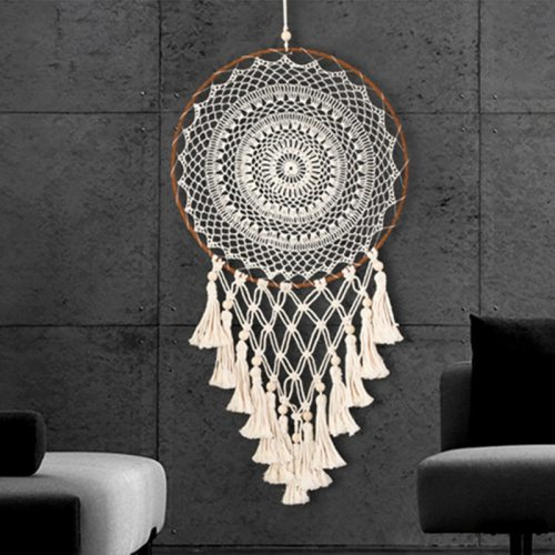 Fringed Dream Catchers 40cm Living Room Bedroom Wall Hanging Home Decor