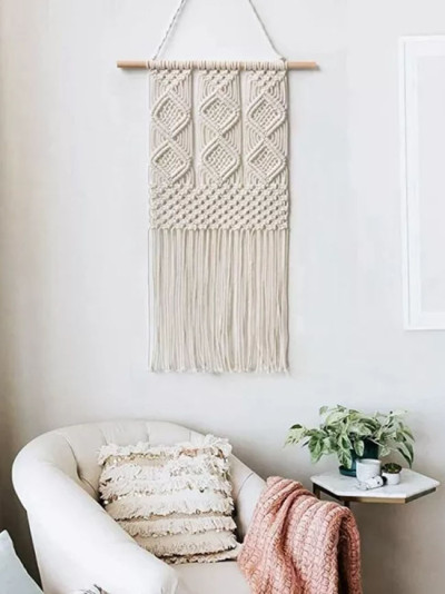 Handmade Wall Hanging Woven Tapestry-Bohemian Home Art Decoration