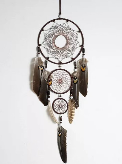 Feather Dream Catchers Big Metal Ring Hanging Dreamcatchers Home Decorations