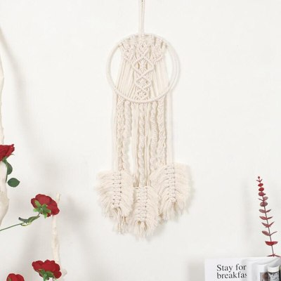 Dream Catcher Wall Tapestry Pendant Nordic Style Craft Hand Woven Home Decor