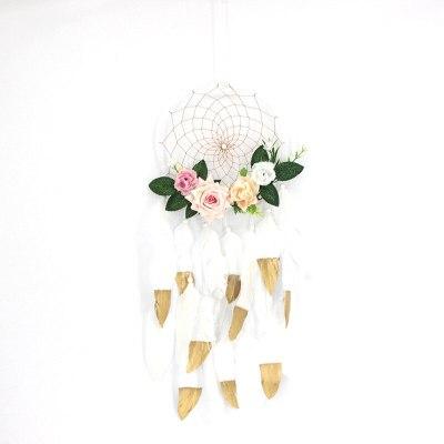 20cm Floral Dream Catchers Kids Home Decor
