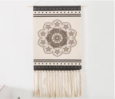 Woven Wall Hanging Macrame Tapestry Home Decor Geometric Art Decor Boho