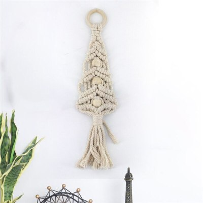 Handmade Bohemian Tapestry Macrame Vintage Wedding Backdrop Chic Home Decorations