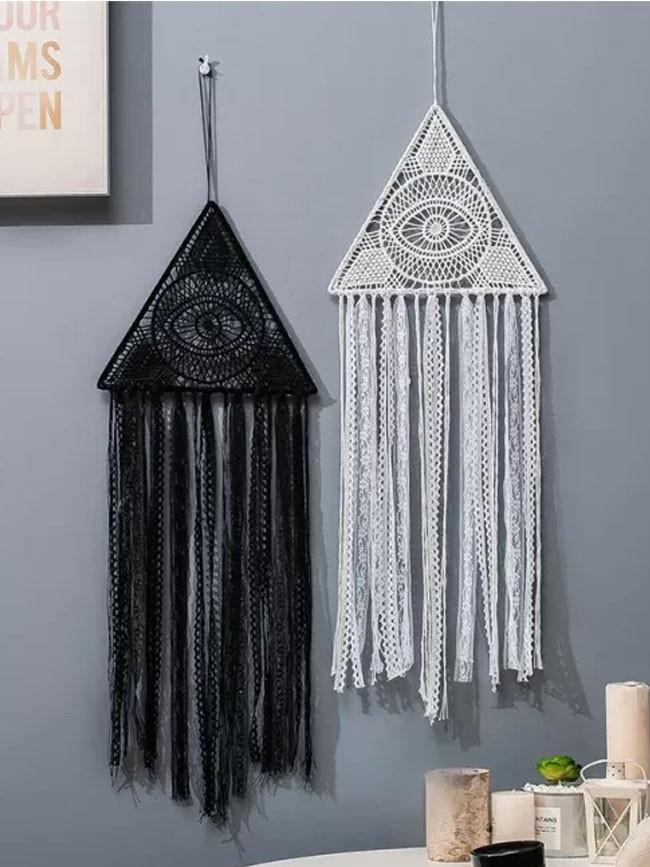 1PC Handmade Fringed Lace Eye Dream Catchers Home Decorative