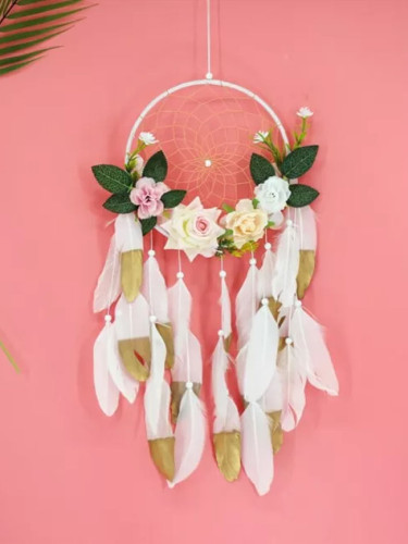 20cm Floral Dream Catchers Kids Home Decor