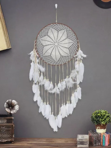 40cm Dream Catchers Handmade Traditional Original Circular Net Feathers Wall Hanging Decoration