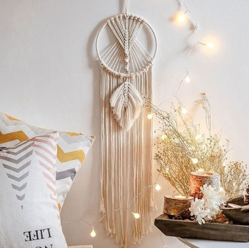 Hanging Dream Catchers Home Decor Handmade Dreamcatchers Decorations
