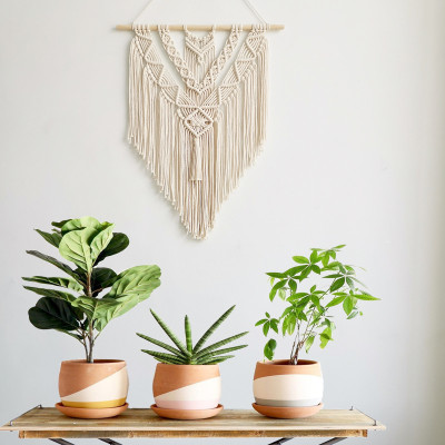 Macrame Wall Hanging Tapestry Wall Decor Bohemian Woven Home Decoration