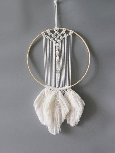 Dream Catchers Woven Feather Decoration Boho Wall Decor