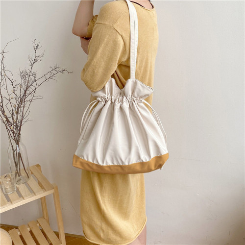 Canvas shoulder bag handbag female bag new messenger bag