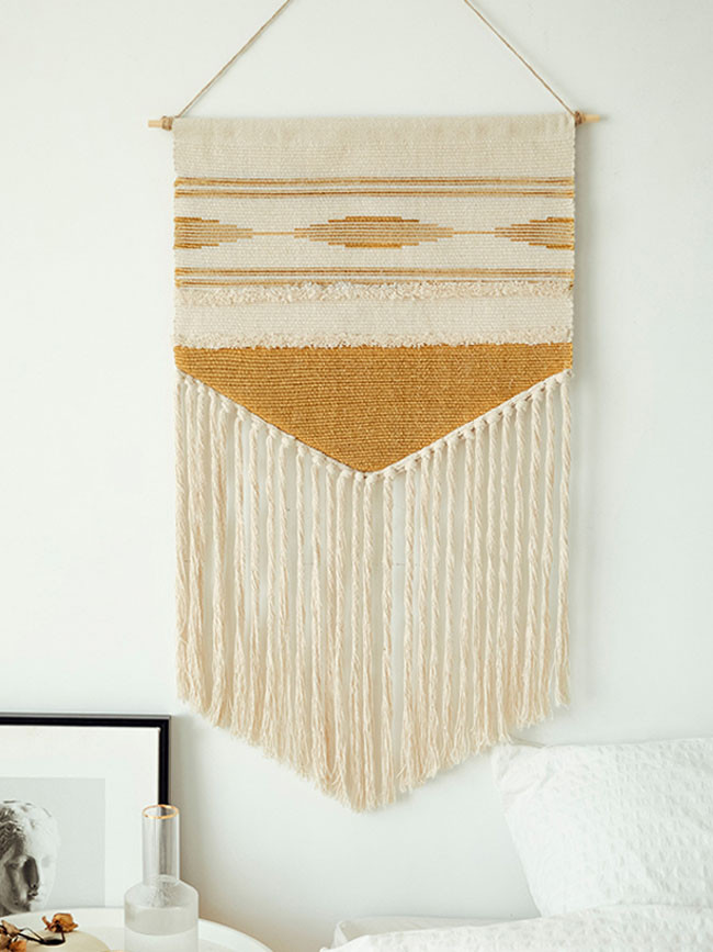 Boho Hanging Tapestry Vintage Fabric Macrame Decoration Home Wall Decor