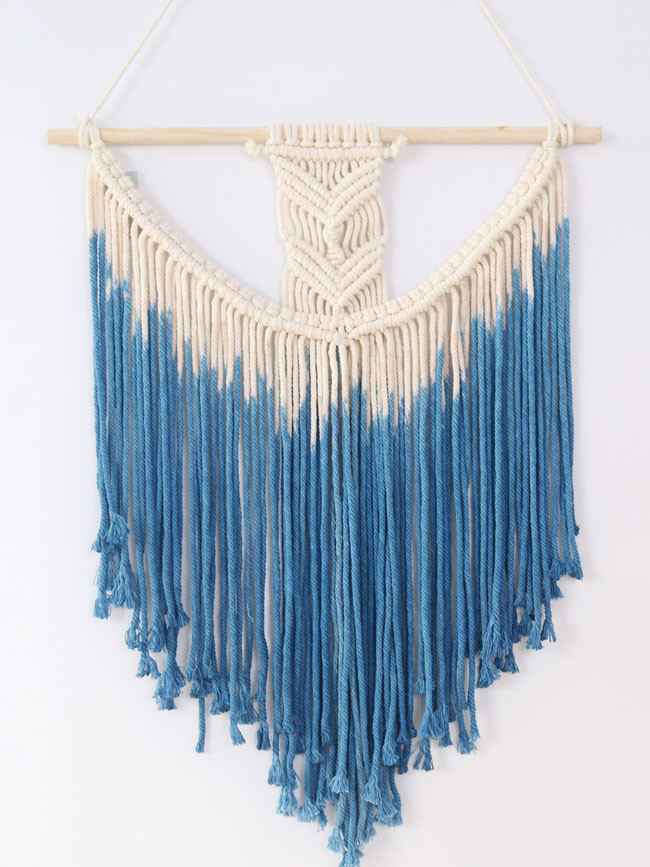 Cotton rope handmade tapestry Nordic decorative Bohemian woven tapestry